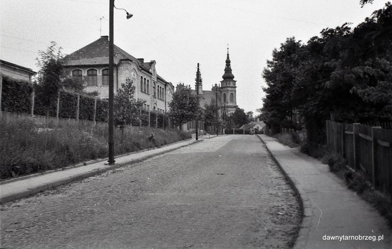 Tarnobrzeg, ul. St. Jachowicza, lata siedemdziesiąte