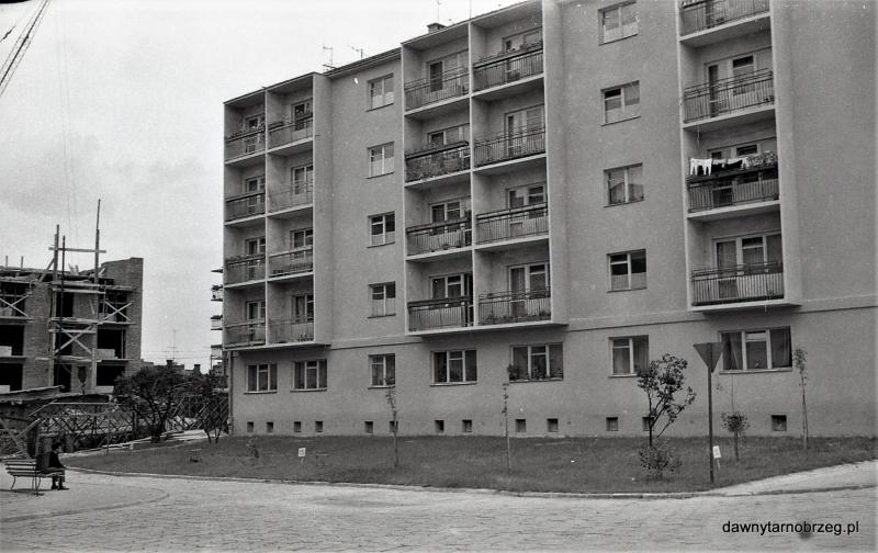 Tarnobrzeg, ul. H.Dekutowskiego, lata sześćdziesiąte
