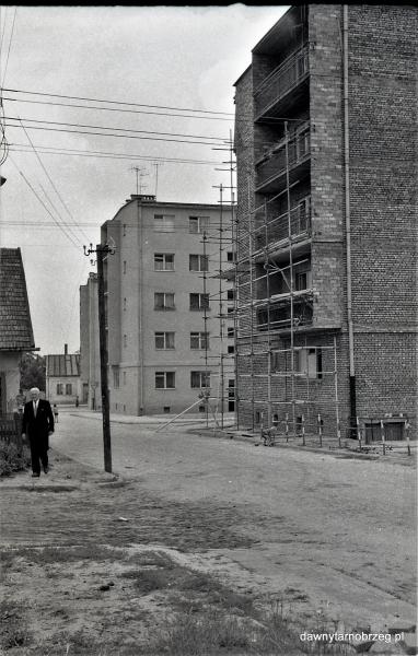 Tarnobrzeg, ul.H.Dekutowskiego, lata sześćdziesiąte