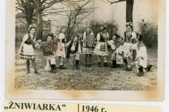 """Przedstawienei """"Żniwiarka """"rok 1946"""