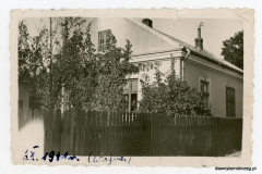 Tarnobrzeska zabudowa, rok 1941