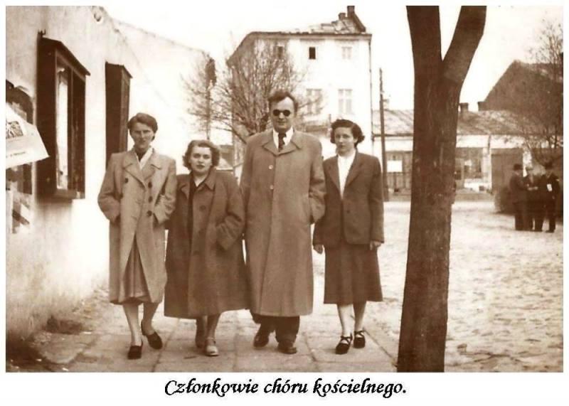 1951 Chór parafialny w Tarnobrzegu (lata 50-te)