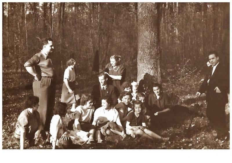 1952 Chór parafialny w Tarnobrzegu (lata 50-te)