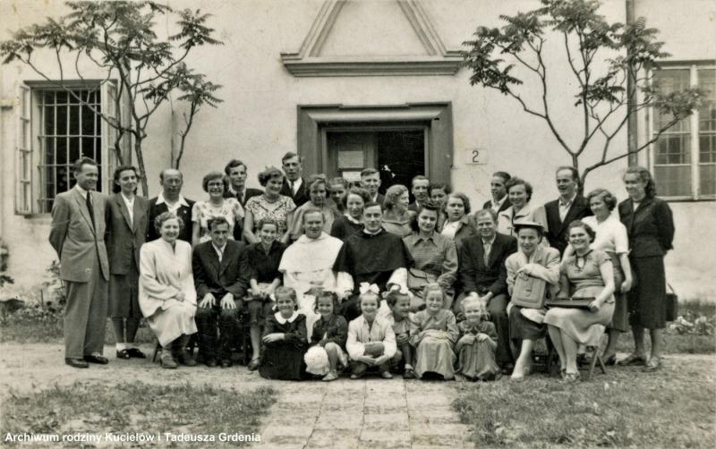 1955 Chór parafialny w Tarnobrzegu (lata 50-te)