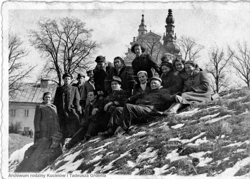 1957 Chór parafialny w Tarnobrzegu (lata 50-te)