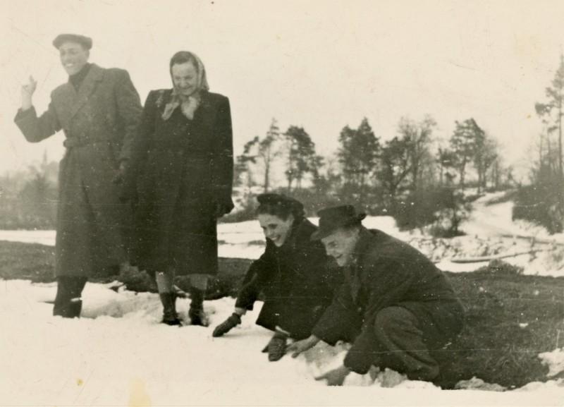 1954 Chór parafialny w Tarnobrzegu (lata 50-te)