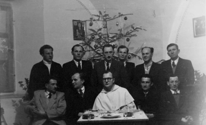 1961 Chór parafialny w Tarnobrzegu (lata 60-te)