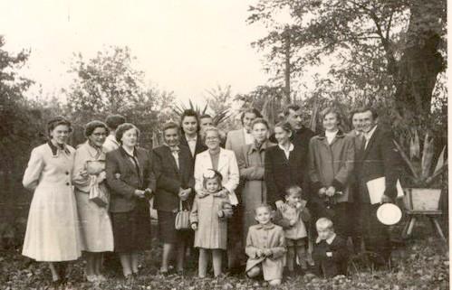 1956 Chór parafialny w Tarnobrzegu (lata 50-te)