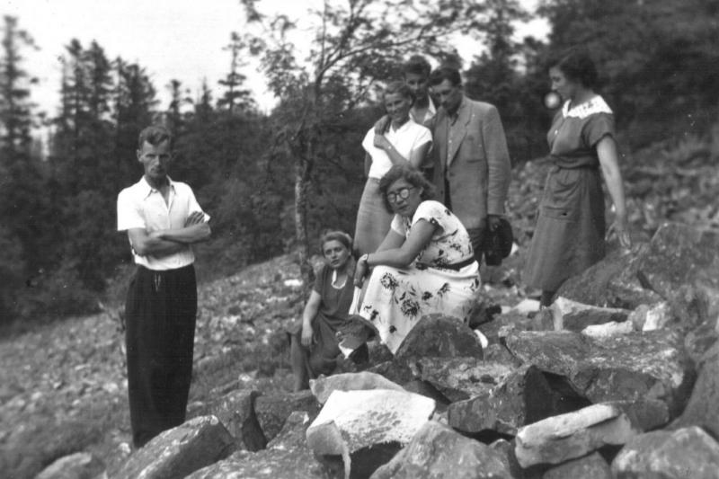 1959 Chór parafialny w Tarnobrzegu (lata 50-te)