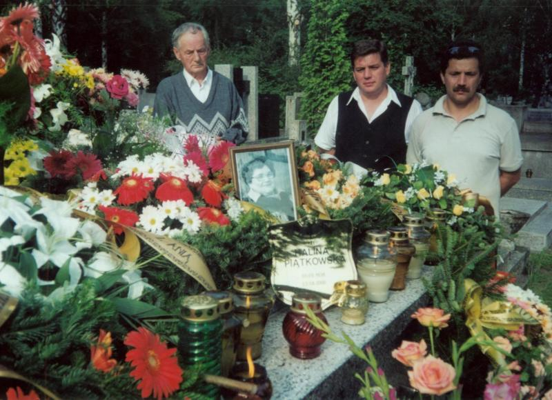 2000 Pogrzeb Haliny Piątkowskie