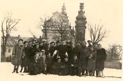 1958 Chór parafialny w Tarnobrzegu (lata 50-te)