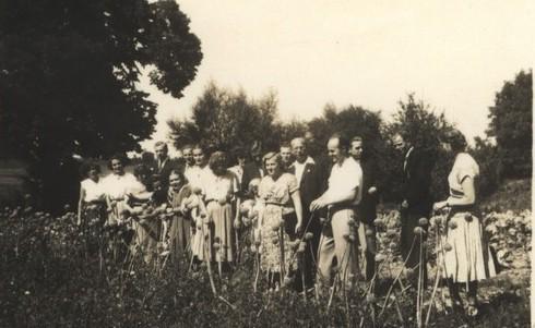 1953 Chór parafialny w Tarnobrzegu (lata 50-te)